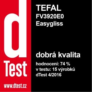 Dtest Tefal FV3920E0 Easygliss